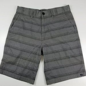 Mens Quiksilver Gray Board Shorts Size 32
